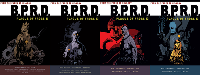 File:BPRD Plague of Frogs Omnibuses.png
