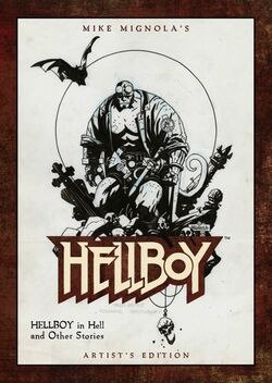 Hellboy Artist's Edition - SDCC Exclusive