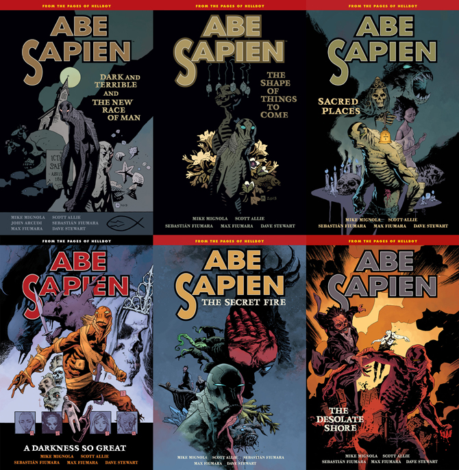 Abe Sapien Dark and Terrible Trade Collections