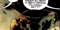 Blackbeard's skull chalice
