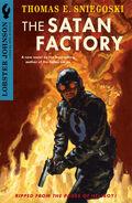 Lobster Johnson - The Satan Factory (Novel Cover)