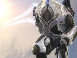 Elite Ultra running with Energy Sword