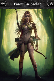 Forest Fae Archer 2