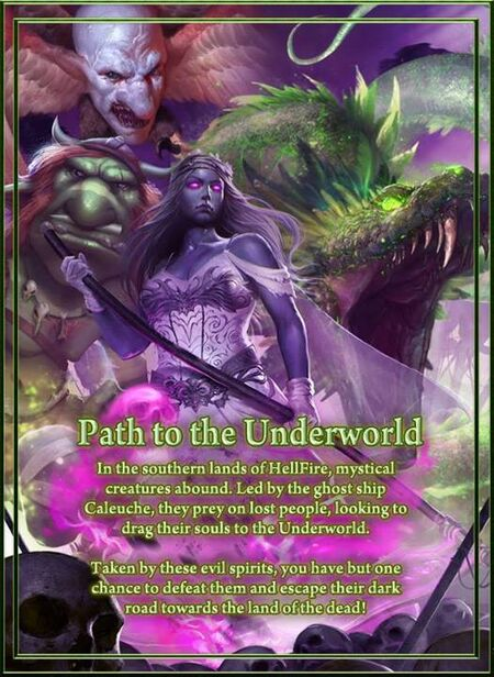 Path to the Underworld Poster 2