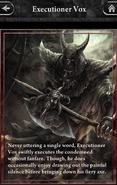 Executioner Vox-Lore