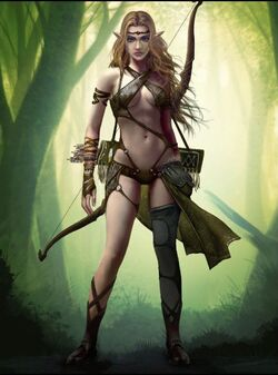 Forest Fae Archer 1