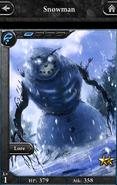 Snowman S1