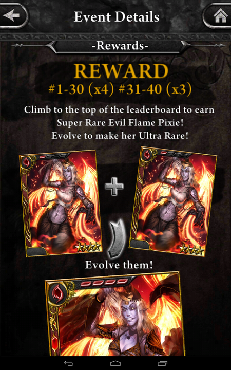 (The Cursed Forest) Rewards 2