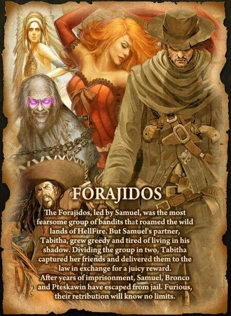 Forajidos Poster Detail