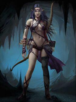 Shadow Fae Archer 1
