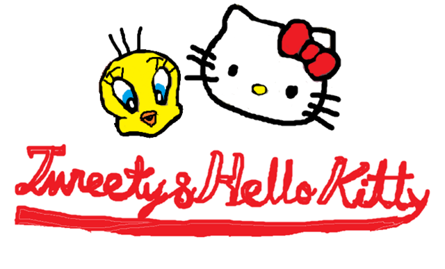 File:Sanrio Characters Tweety Hello Kitty Image011.png
