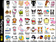 Hello Kitty Characters