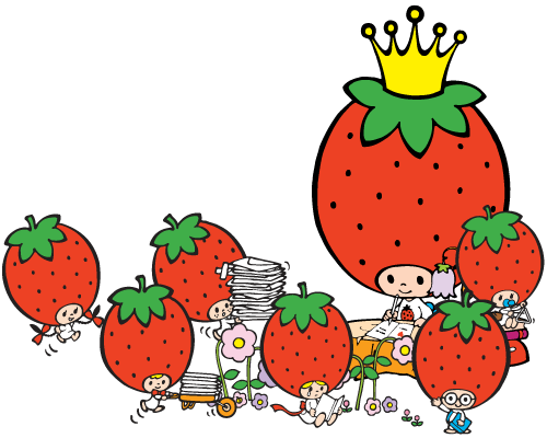 File:Sanrio Characters Strawberry King--Tuffy--Tommy--Dandy--Crybaby--Socrates--Stinky Image001.png