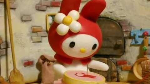 """Hello Kitty Stump Village """"Trick or Treat"""""""