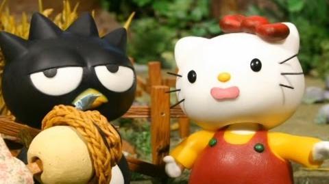Hello Kitty Stump Village 22. Scarescrows