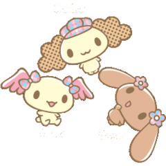 Mocha, Chiffon, Azuki
