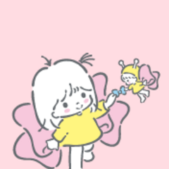 With the ribbon fairy