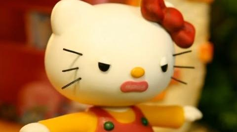 Hello Kitty Stump Village 10. Please Come Back