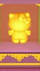 Hello Kitty goldene Statue Paris Pantheon