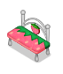 Pinkstrawberrybench