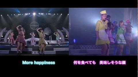 Berryz Koubou × ℃-ute - Chou HAPPY SONG (Double Screen Live Ver