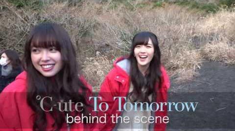 "℃-ute - Making V ""To Tomorrow Final Squall The Curtain Rises"" Digest Video"