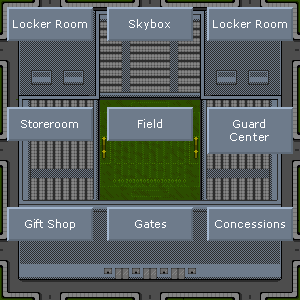 Stadium sections
