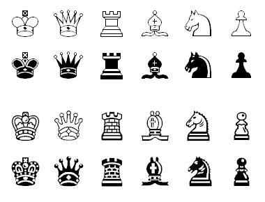 Chess symbols