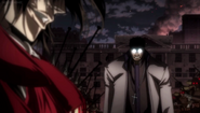 Paladin approaches Alucard