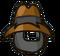 Masked Cowboy Hat