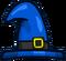 Blue Wizard Belt Hat