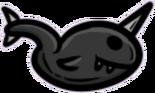 Shiny Dark Toad