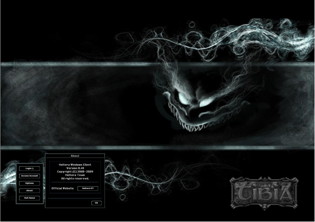 Customized Client Login Screen