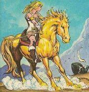 Teela's horse