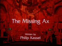 The Missing Ax