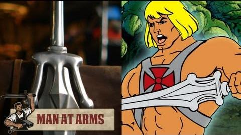 He-Man's Sword - MAN AT ARMS