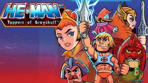 HE-MAN TAPPERS OF GRAYSKULL iOS Android Gameplay Tariler HD