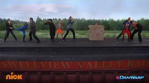 """Henry Danger """"Danger & Thunder"""" Train Fight!"""