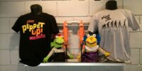 Puppet Up! merchandise