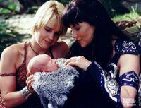 Gab Xena Eve baby