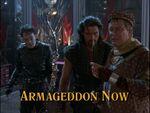 Armageddon now title