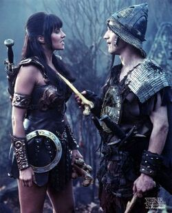 Joxer Xena girls wanna