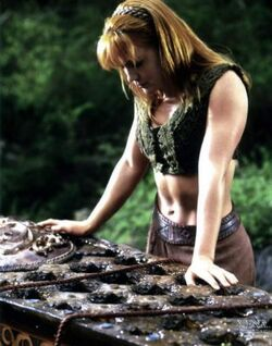 Gabrielle Xena Coffin Quest