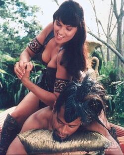 Xena and Draco Comedy of Eros