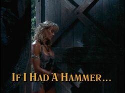 If i had a hammer title