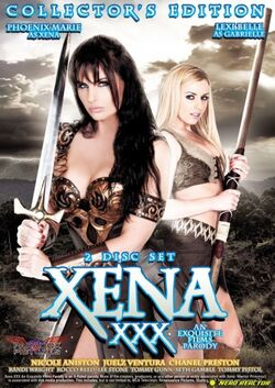 Xena xxx dvd cover