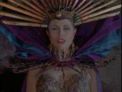 Temple priestess