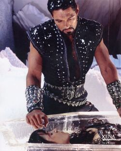 Xena and Ares Death Eye Ice