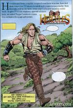 Hercules & Xena - The Comic Book Begins first panel