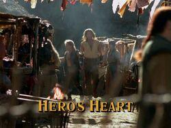 Hero's Heart Title